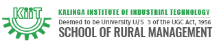 KIIT School of Rural Management Logo